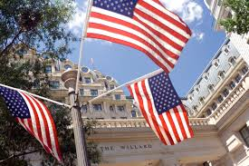 marriott hotels an overview of brands and locations usa washington dc american flags outside the willard hotel