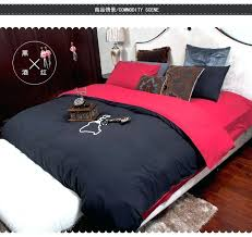 Black Comforter King Size Gothic Mens Bed Sets U2013 Tappy Co