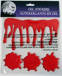 Ebay Halloween Props Halloween Bloody Window Gel Clings Props 4 Different Styles Your