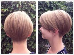 neckline photo of women wth shrt hair tapered neckline bob haircut hair color ideas and styles for 2018