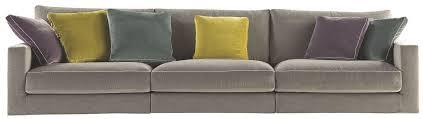coussin de canapé design canape design velours