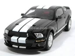Ford Mustang Shelby Gt500 Black Ford Mustang Shelby Gt500 Diecast Model Car 1 18 Scale Die Cast By