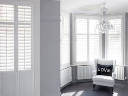single double plantation shutters for wide window for the home