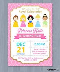 disney princesses invitation princess invitation princesses