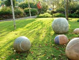 plastic garden statues and yard art landscape contemporary with