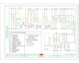 2d drawings motor starter circuit wiring diagram components
