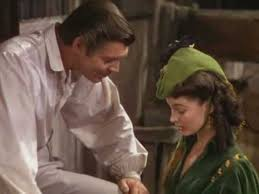 Gone With The Wind Curtain Dress Gone With The Wind Scene With Rhett Borrowing 300 Dollars For Tara