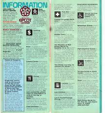 Epcot Center Map Epcot Center Guide Book 1986 A Disney Mom U0027s Thoughts