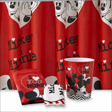 Disney Shower Curtains by Bathroom Fabulous Mickey Mouse Bathroom Sets Mickey Mouse