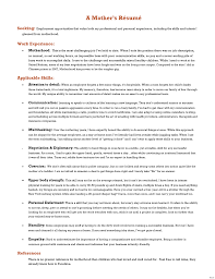 stay at home resume template stay at home resume exles template how to list on