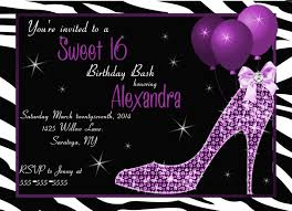 sweet 16 birthday party invitations unique custom holiday cards
