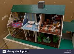 vintage cape cod style doll house stock photo royalty free image