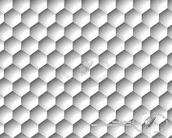 3d wall panel honeycombed texture seamless 20446