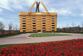 longaberger building local longaberger collector remembers iconic basket building the