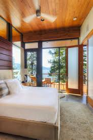Modern Interiors by Elegant Coeur D U0027alene Cabin Blends Lovely Lake Views With Modern