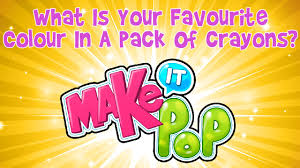favourite colour make it pop what is your favourite colour in a pack of crayons