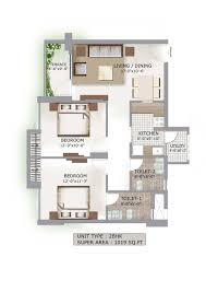 100 2bhk plan value homes by arg group 2 bhk flats in