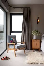 Modern Window Treatments For Bedroom - modern curtains on recessed track modern window treatments