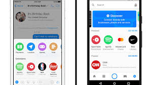 Design Home Extension App Facebook Messenger Adds App Extensions And A Bot Store The Verge