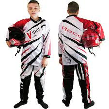 motocross kids gear kids child motocross kit shirt jersey u0026 trousers race mx quad