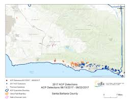 Santa Barbara California Map Maps