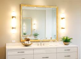 Framing A Bathroom Mirror Custom Framed Bathroom Mirrors Of Frames