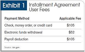 installment plan agreement template irs u0027s