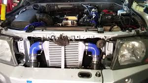 mitsubishi shogun 3 2 did intercooler youtube