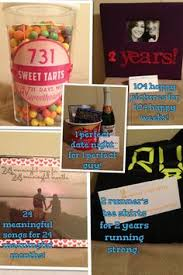 anniversary gifts for him 2 years one year anniversary gift ideas for
