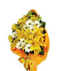 Yellow Lilies Yellow Lily Hand Tied Bouquet At From You Flowers