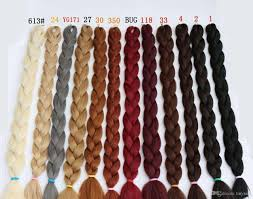 super x braid hair wholesale kanekalon hair x braid ultra volume 82inch 165g multi color mixed
