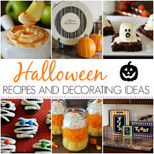 Simple Halloween Treat Recipes Halloween Recipes And Decorating Ideas