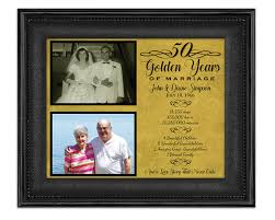 50th anniversary gift for parents 50th anniversary gifts golden anniversary gift wedding