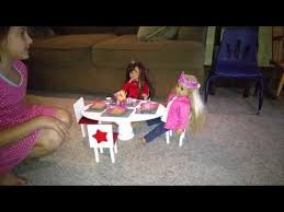 american doll table and chairs how to make an american doll table and chairs youtube