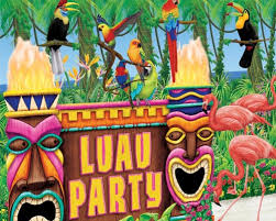 luau party decorations hawaiian luau party rack party rental in glendale