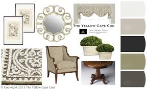 the yellow cape cod understated elegance a semi formal foyer