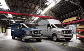 nissan van 12 passenger 2018 nissan nv cargo and passenger gain more tech at a higher cost