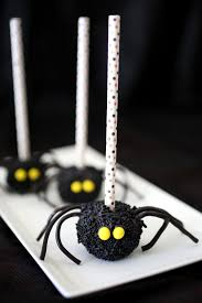 spooky spider marshmallows evite