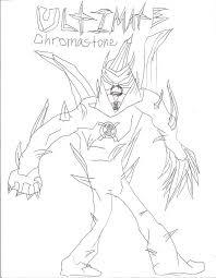 ben 10 alien force chromastone coloring pages ben 10 coloring