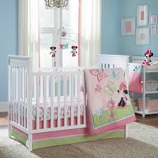 bedding minnie mouse butterfly dreams piece crib bedding set