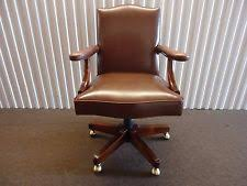 vintage leather chair ebay