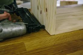 Laminate Flooring Around Door Frames How To Make A Hidden Trash Can Cabinet Danmade Watch Dan Faires