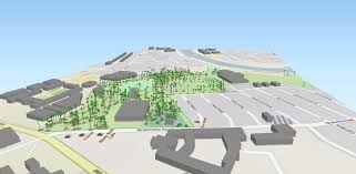 Belfast Botanical Gardens by Open Data And 3d Visualisation Trees Mapped Centre For Gis And
