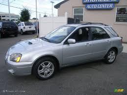 subaru 2004 wagon 2004 platinum silver metallic subaru impreza wrx sport wagon