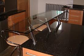 Glass Breakfast Bar Table Glass Splashback Specialists Kitchen Work Surfaces Bathroom Wall