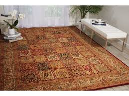 Orange And Brown Area Rugs Floor Coverings Kathy Ireland Ancient Times