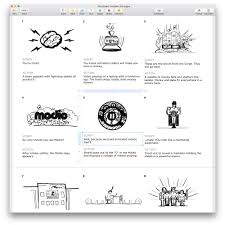 free storyboard templates for apple pages u2014 plot