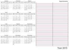 printable calendar year 2015 printable calendar 2015 home life weekly