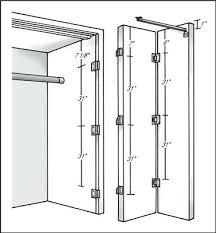 Bifold Closet Doors Hardware Bifold Closet Door Hardware Bifold Closet Door Pivot Bracket