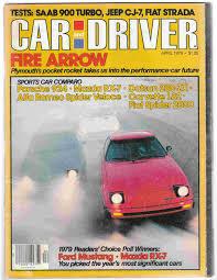mazda car and driver car and driver april 1979 volume 24 number 10